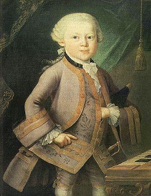 моцарт мал